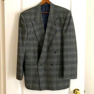 Vintage Francescatti double breasted wool blazer